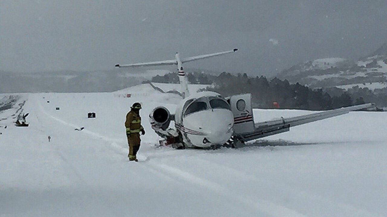 Small plane crashes into snow plow in Telluride