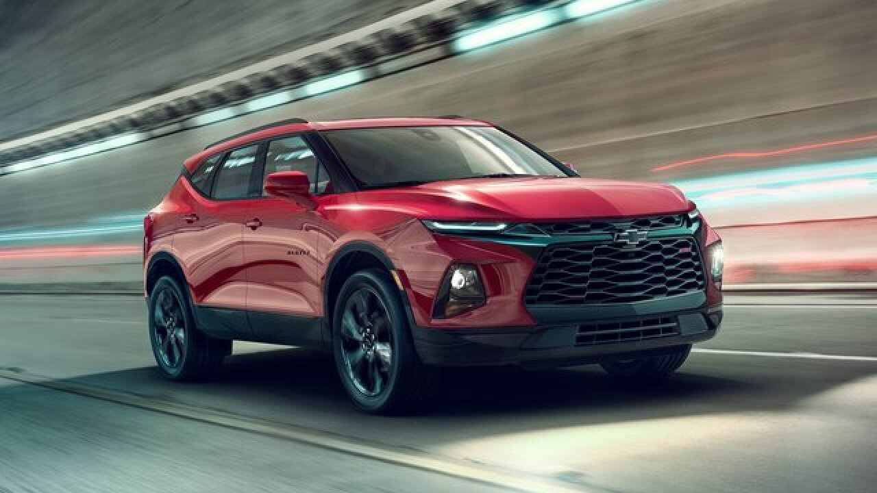 Chevy Blazer, an SUV classic, launches a comeback