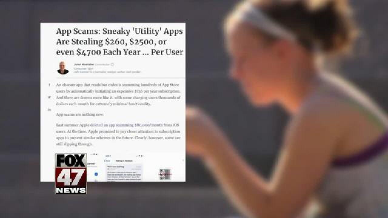 Expensive App Surprise