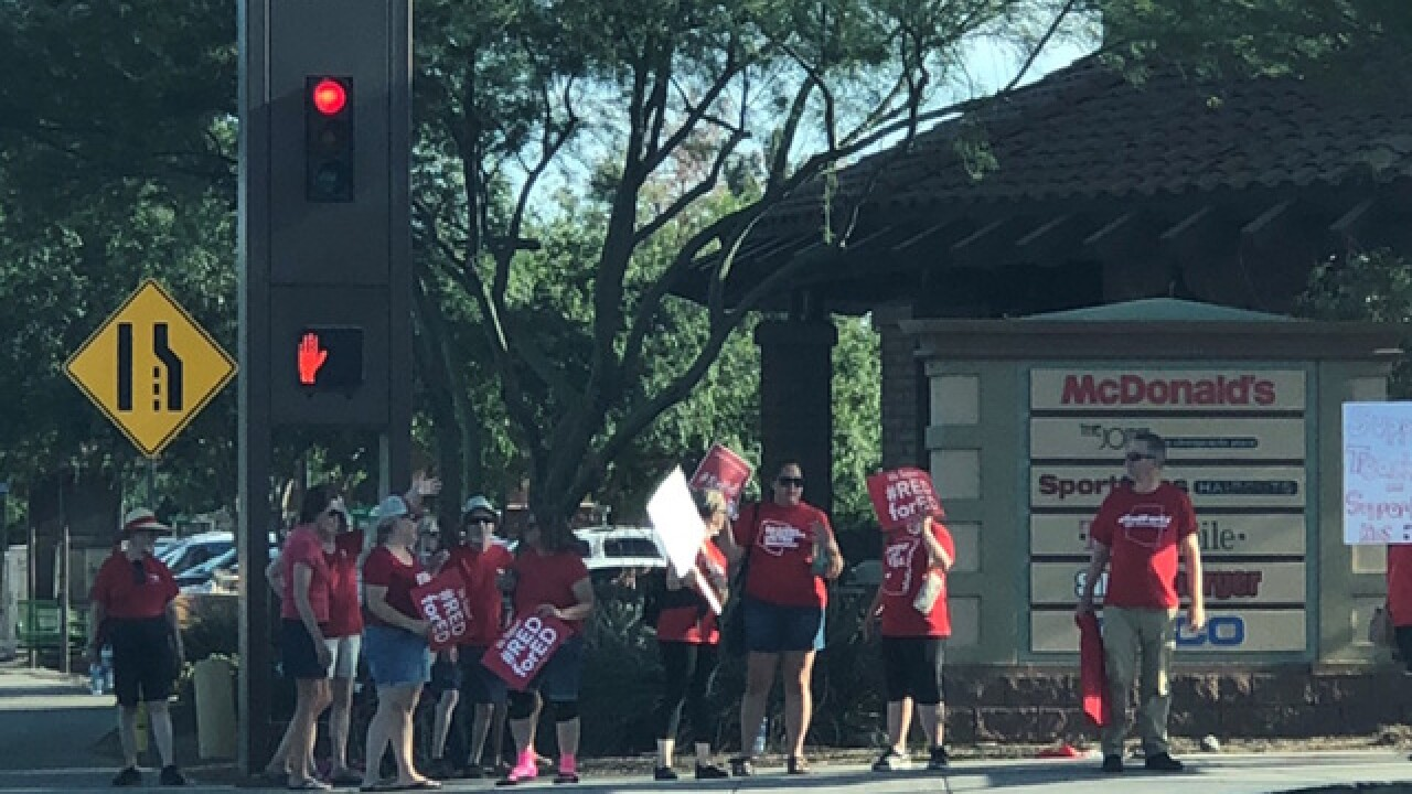 5 questions about Arizona teacher walkouts