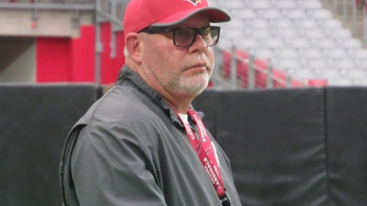 REPORT: Bruce Arians won't return as Cardinals head coach in 2018
