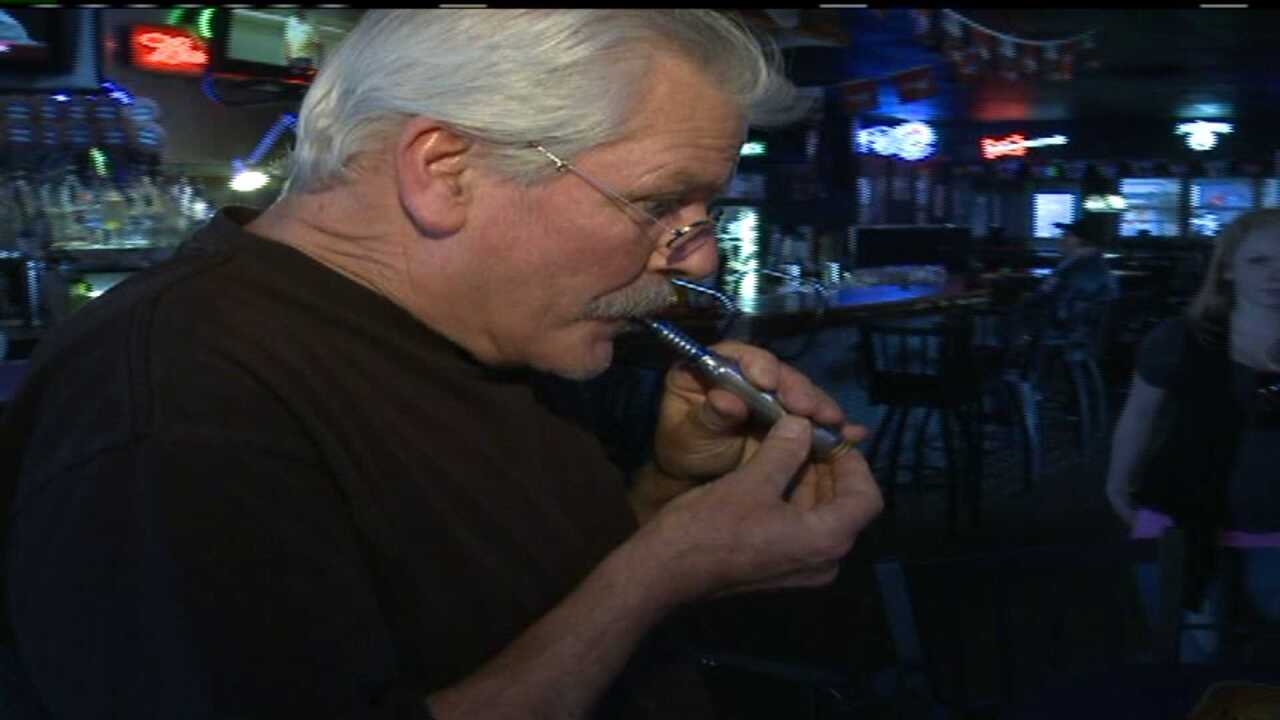 Group protests E-cigarette ban