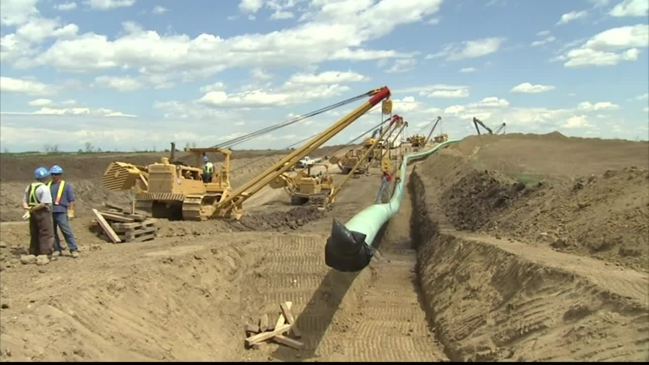 Keystone XL Pipeline Construction