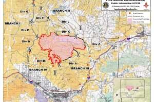 Pine Gulch Fire map_Aug 23 2020