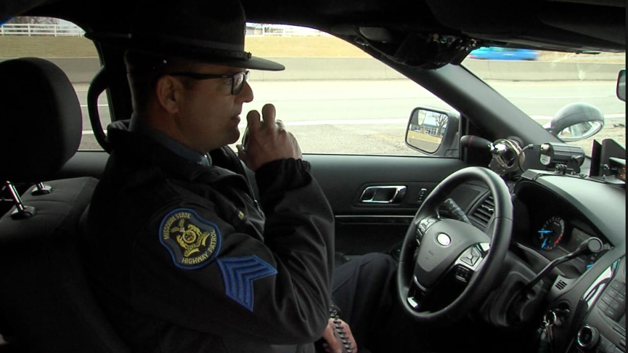 Missouri Highway Patrol Sgt. Collin Stosberg