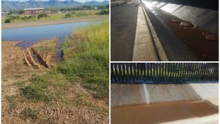 Sewage flow from Mexico into Naco, Arizona, stopped