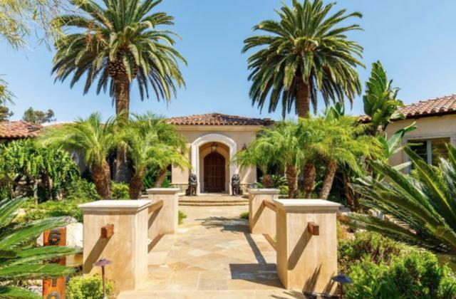 Koi ponds, waterfalls at this $9,500,000 Rancho Santa Fe estate
