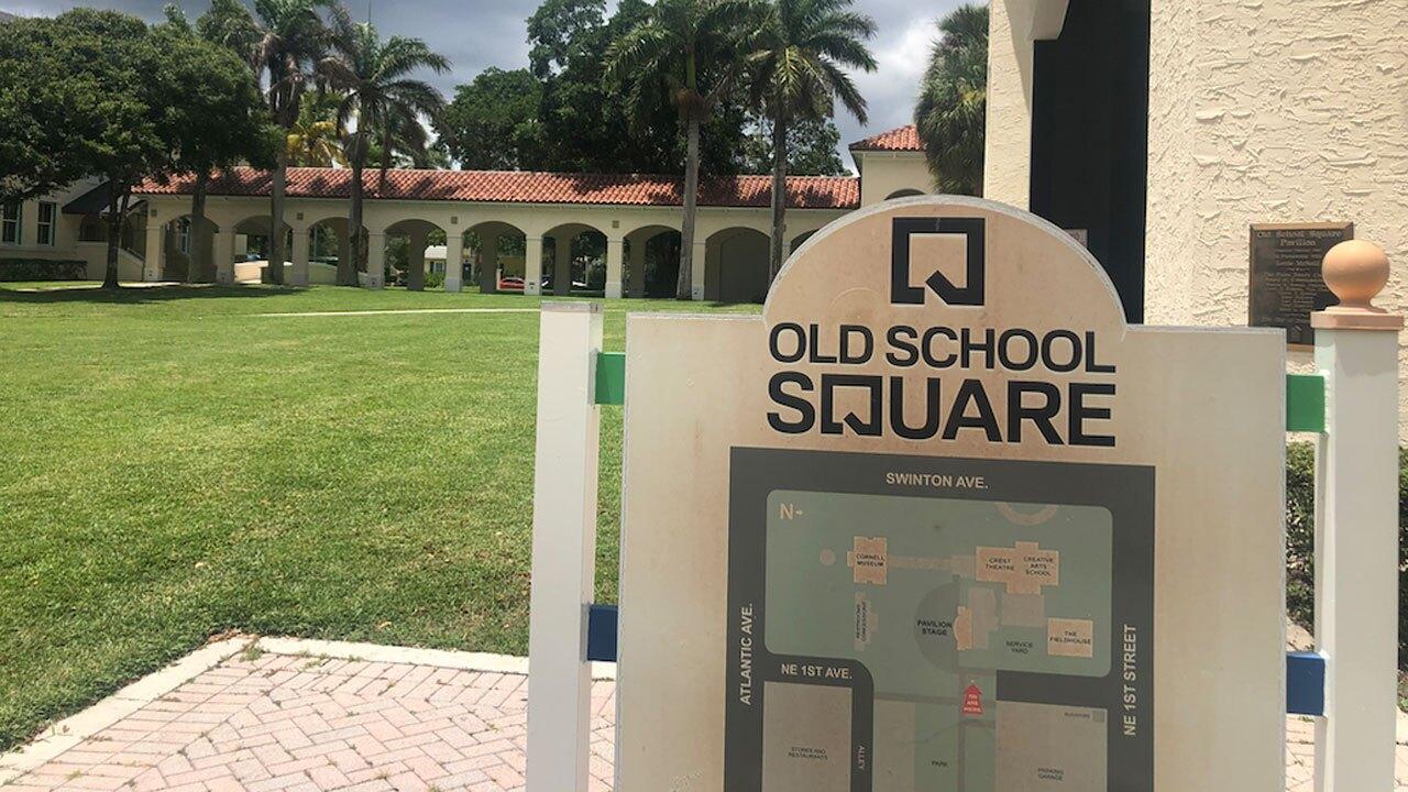 Old School Square in Delray Beach
