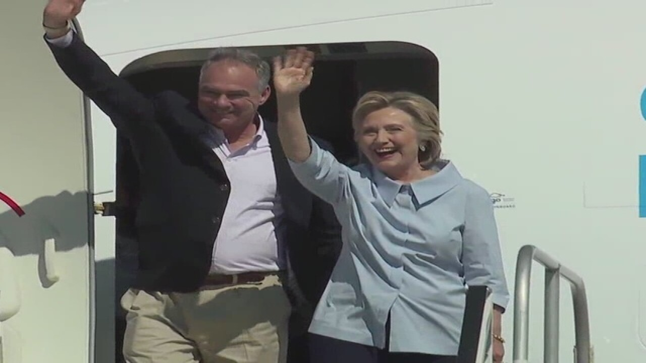 Clinton and Kaine coming to CLE on Labor Day