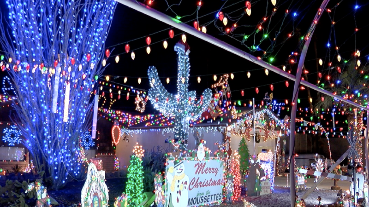 Family decorates home for the holidays to continue decades-old tradition