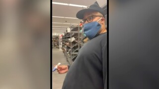 Funny video shows moment wife told husband she's expecting at Nordstrom Rack