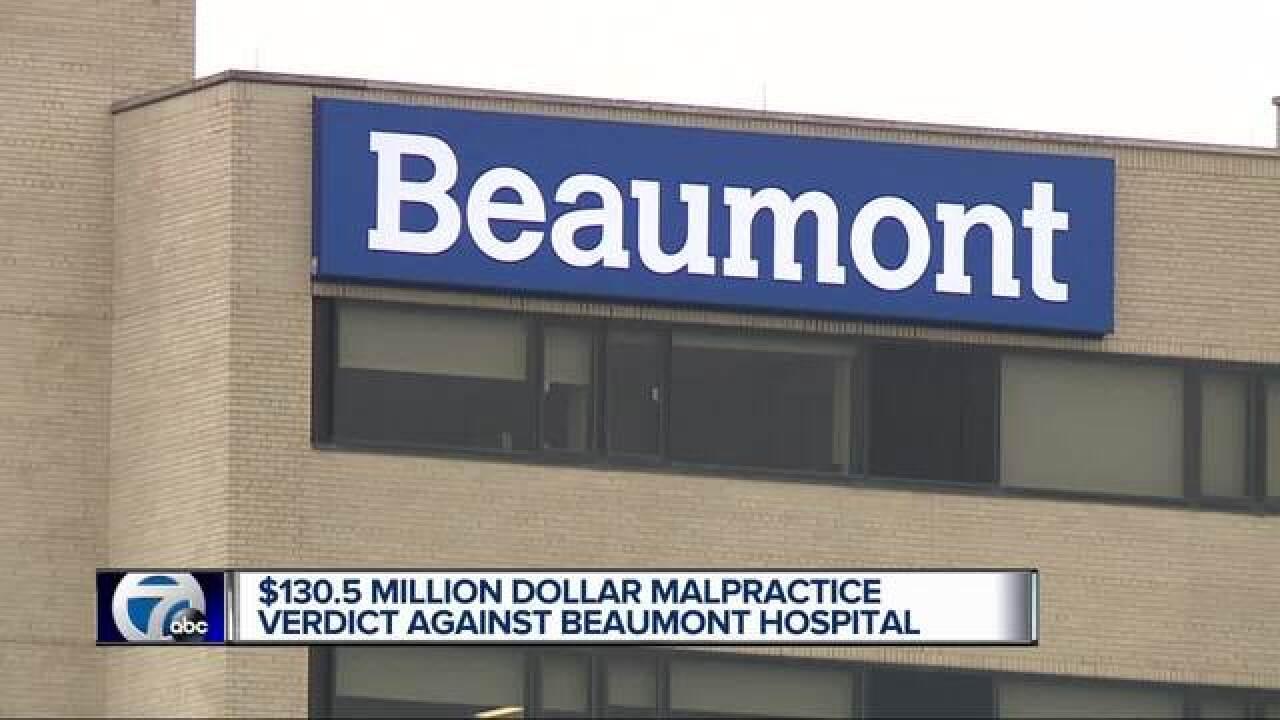 Jury awards family $130M in malpractice case