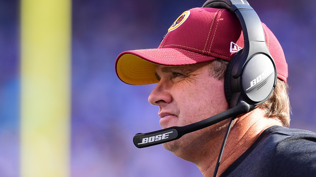 'Skins scoop: When selecting Sunday's starting QB, Jay Gruden will 'let it play out'