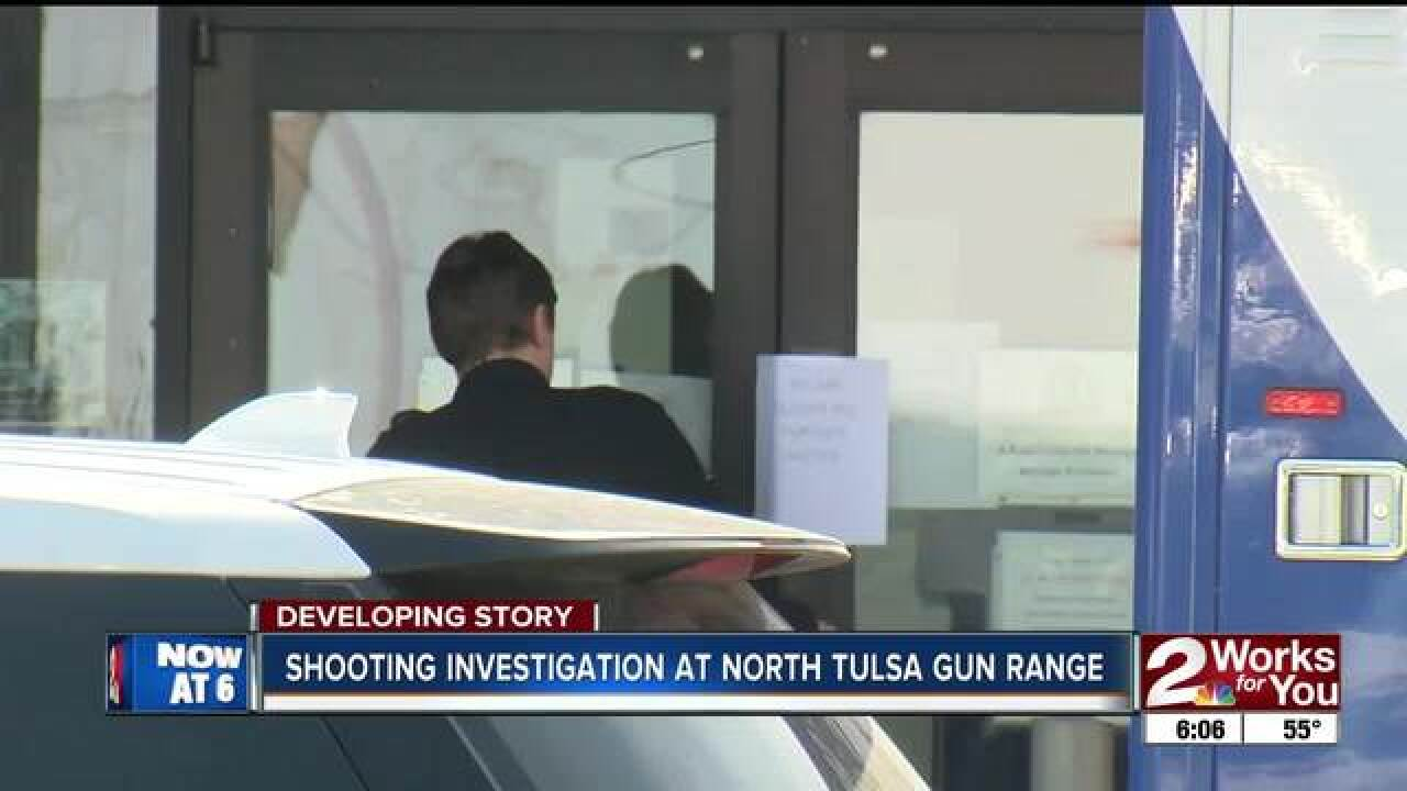 Police investigate shooting at Tulsa gun range