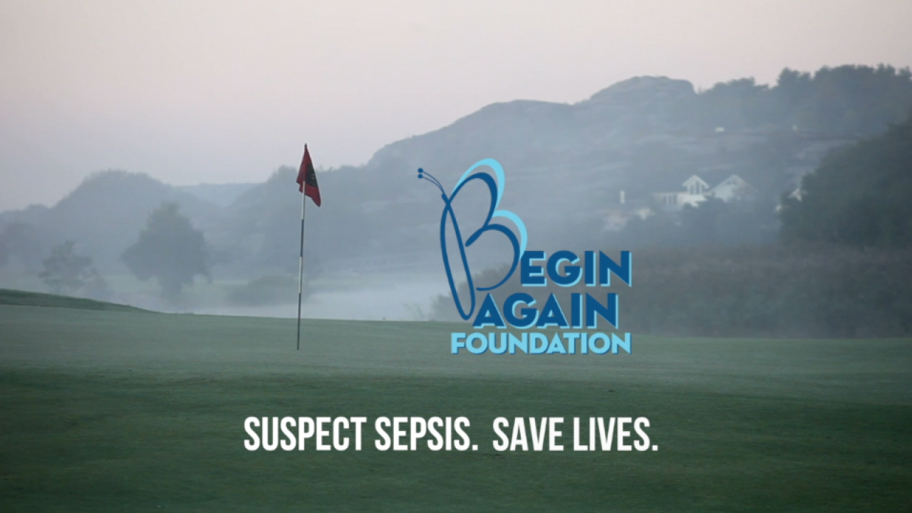 High-profile golfers help Virginia Beach-based Begin Again Foundation raise awareness of sepsis