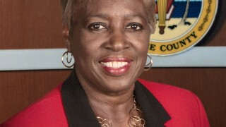 Gwynetta Gittens first black Lee County school board member