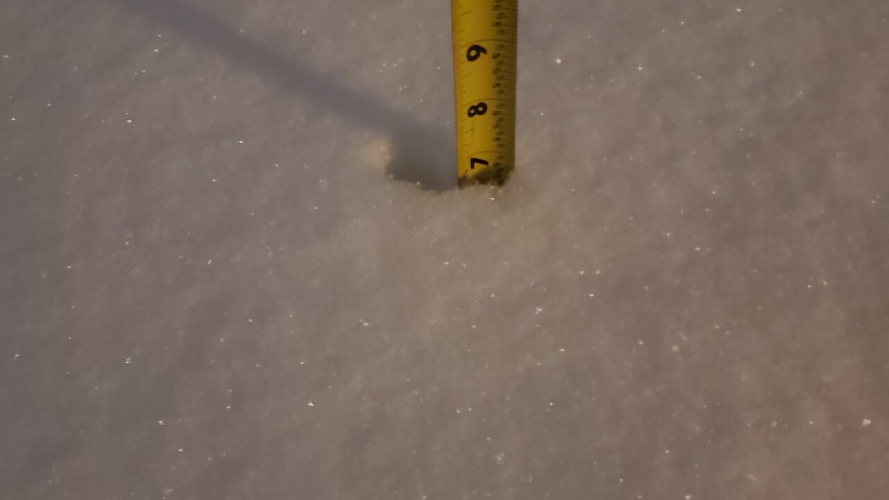 Old Colorado City snow