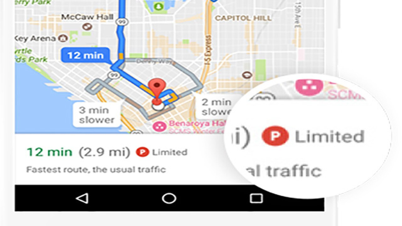 Google Maps will tell you how hard it will be to find ...