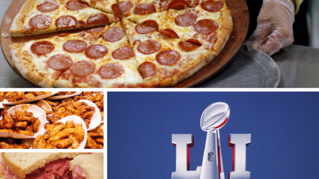 The best deals on pizza, wings, subs and TVs for Super Bowl Sunday