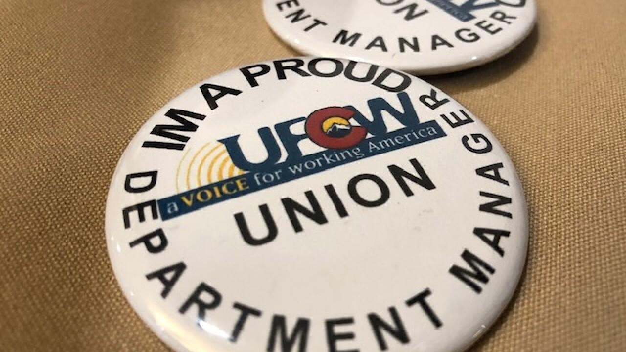 King Soopers union workers seek more pay