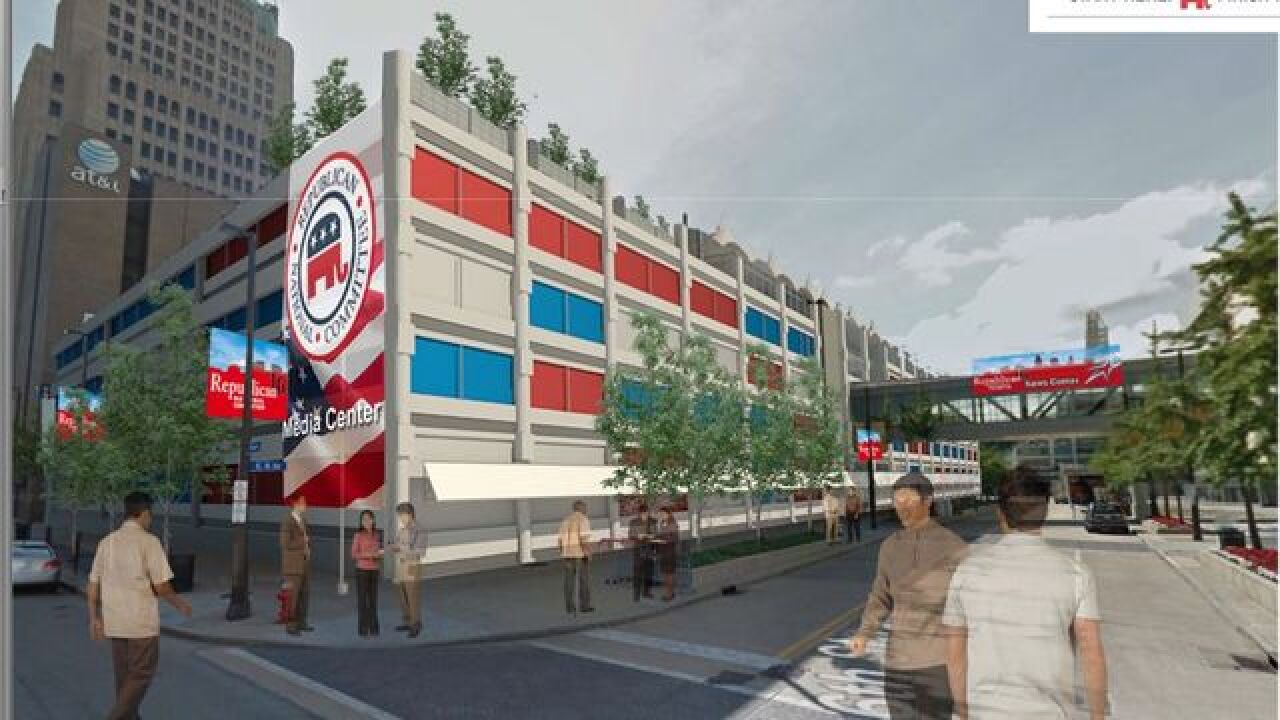 Gateway garage could be used for RNC media