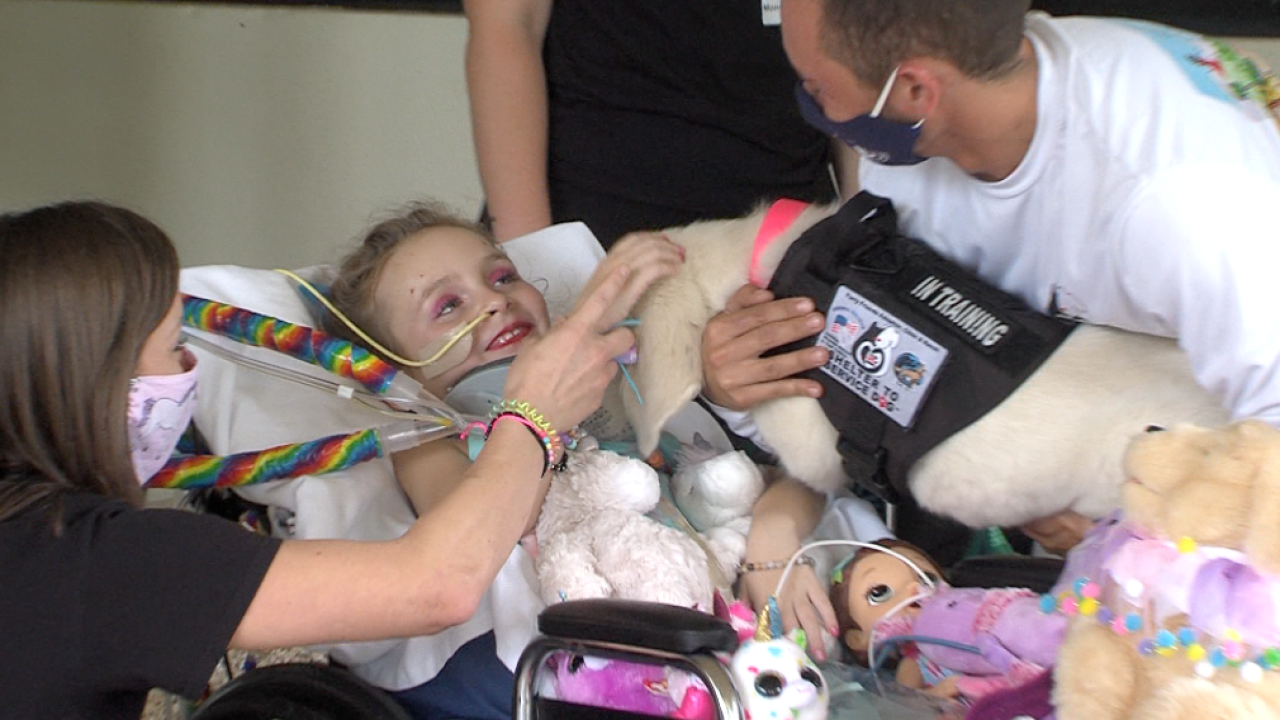 Almost two months after a 6-year-old Wellington girl was severely injured in a life-changing car crash the community is continuing to rally around her as she looks ahead to her long road of recovery.
