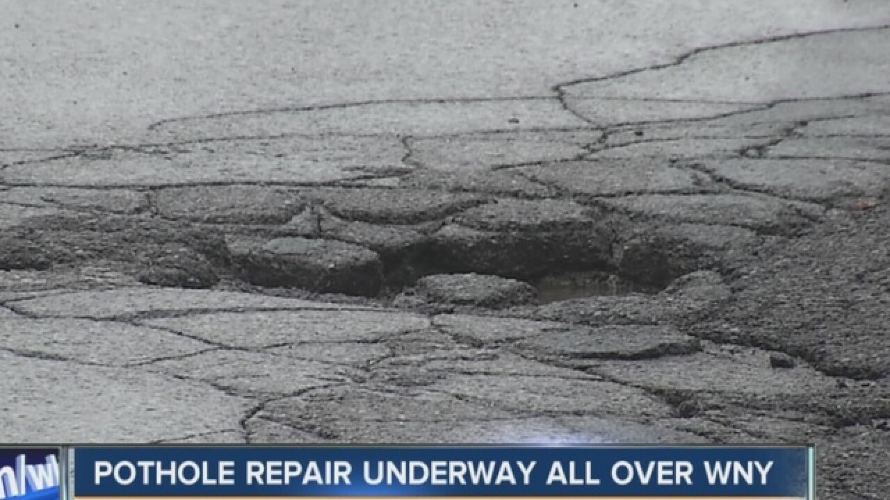 Nasty pothole? Here's the number to call...