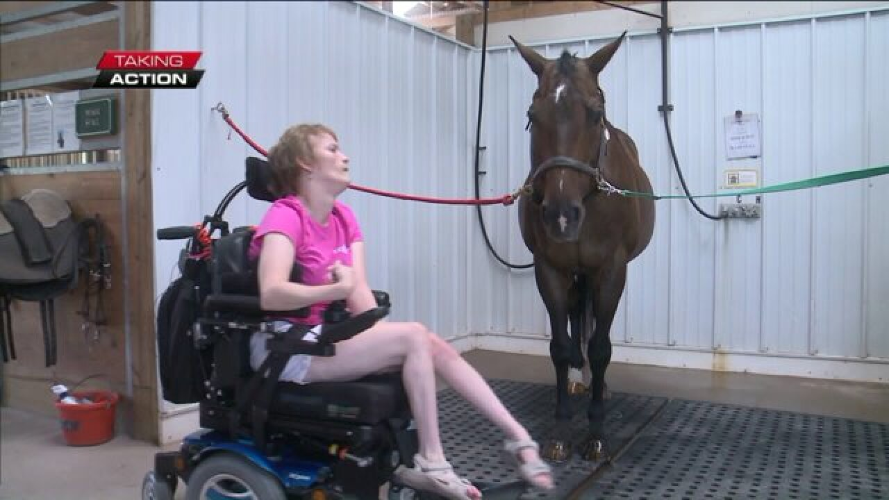 EQUI-KIDS therapy horse named Equine of the Year