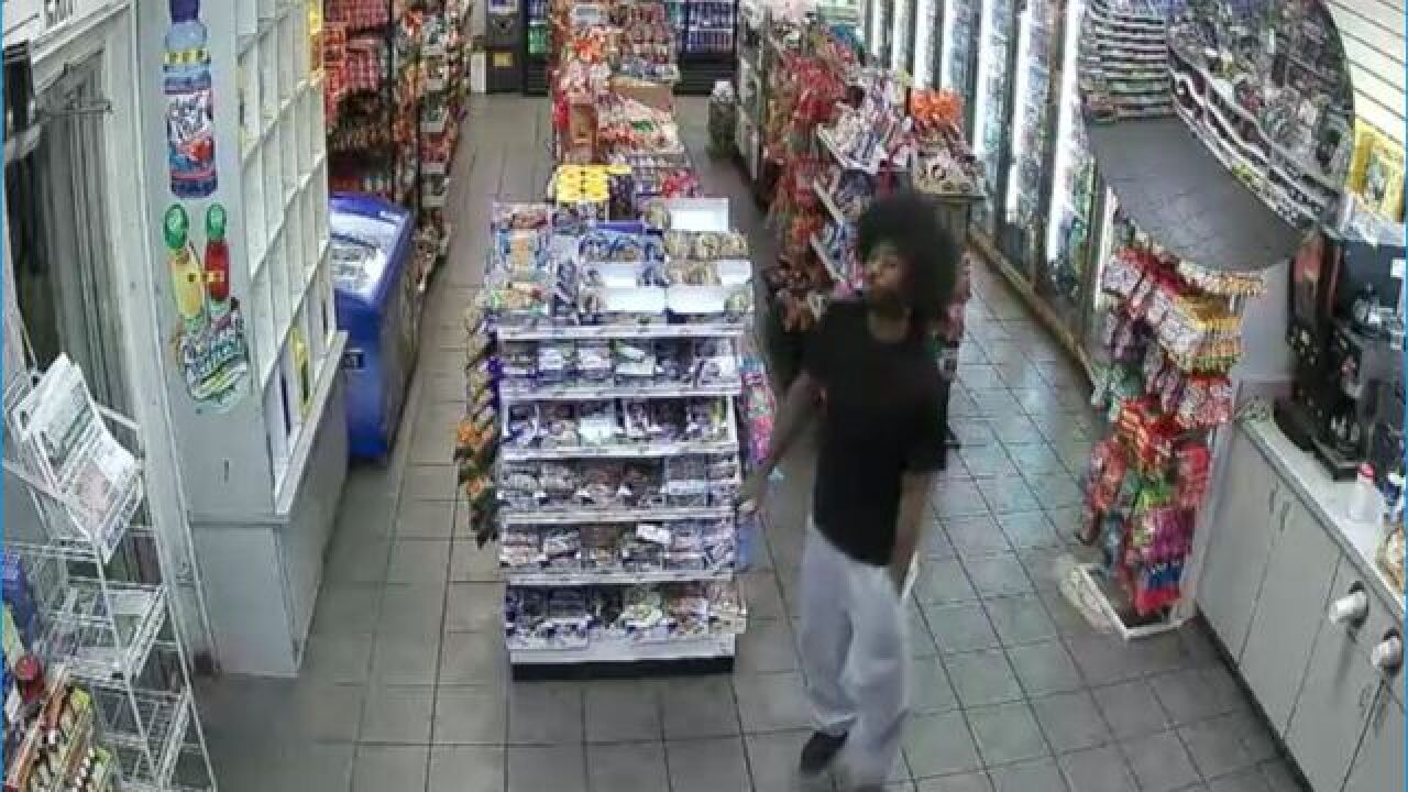 PHOTOS: Man wanted in double shooting