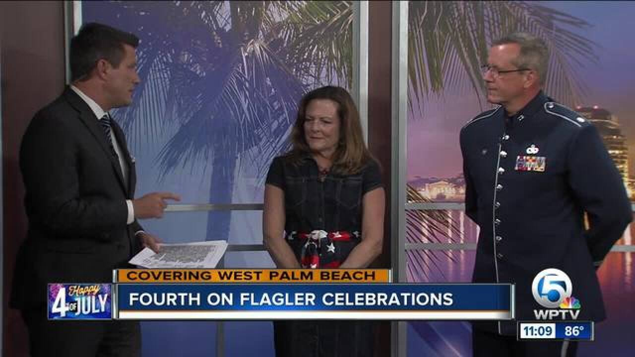 West Palm Beach hosts 30th annual '4th on Flagler'