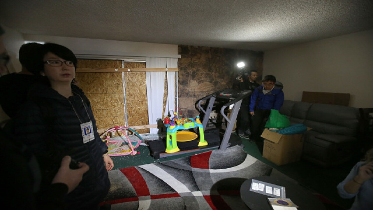 Photos: Inside the attackers' home
