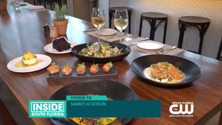 Kick off Miami Spice at Market at the Edition