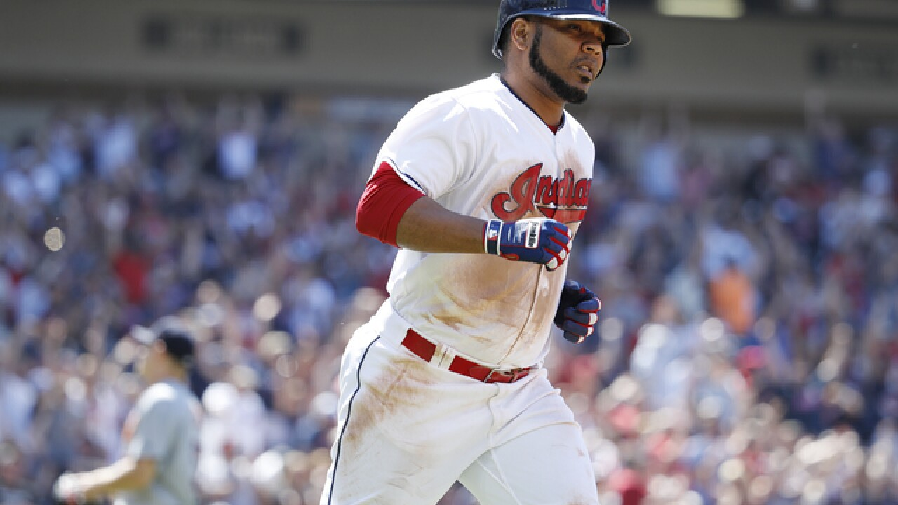 Edwin Encarnacion hits grand slam as Indians pound Tigers