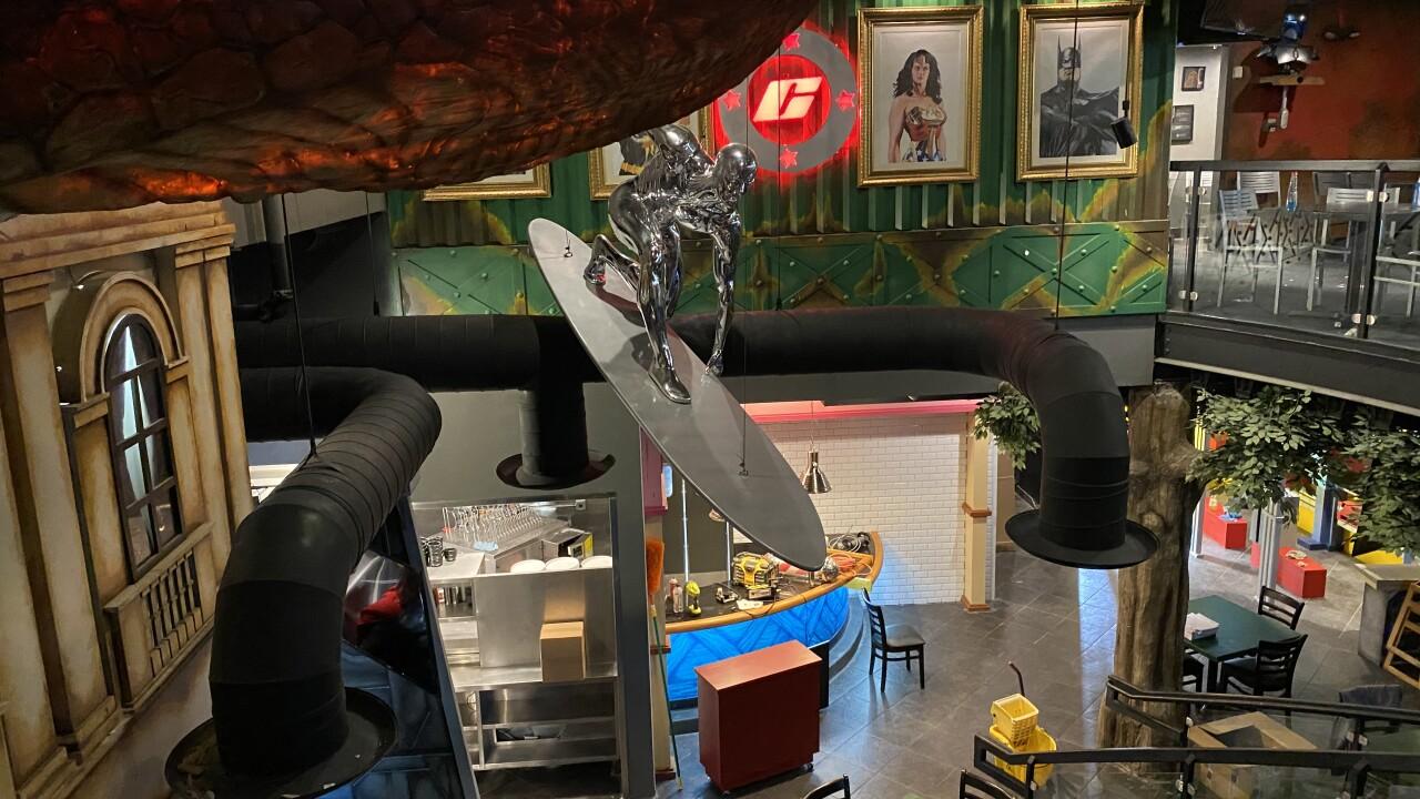 First look: ComicX, superhero-themed restaurant and bar, opens Dec. 1 at Desert Ridge Marketplace in Phoenix