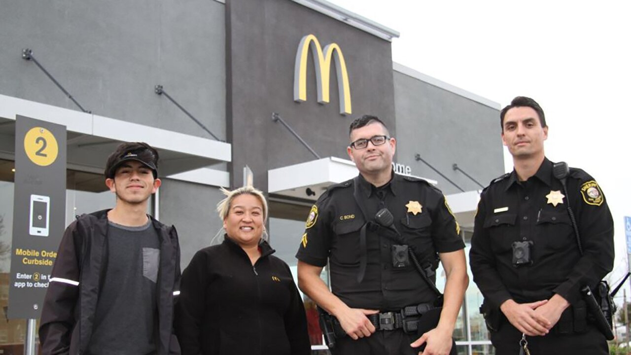 McDonald's employees helps woman who mouthed 'help me' at drive thru