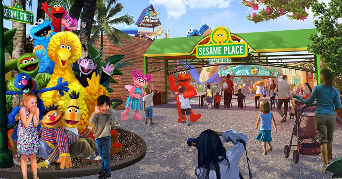 SeaWorld to open Sesame Street theme park in San Diego