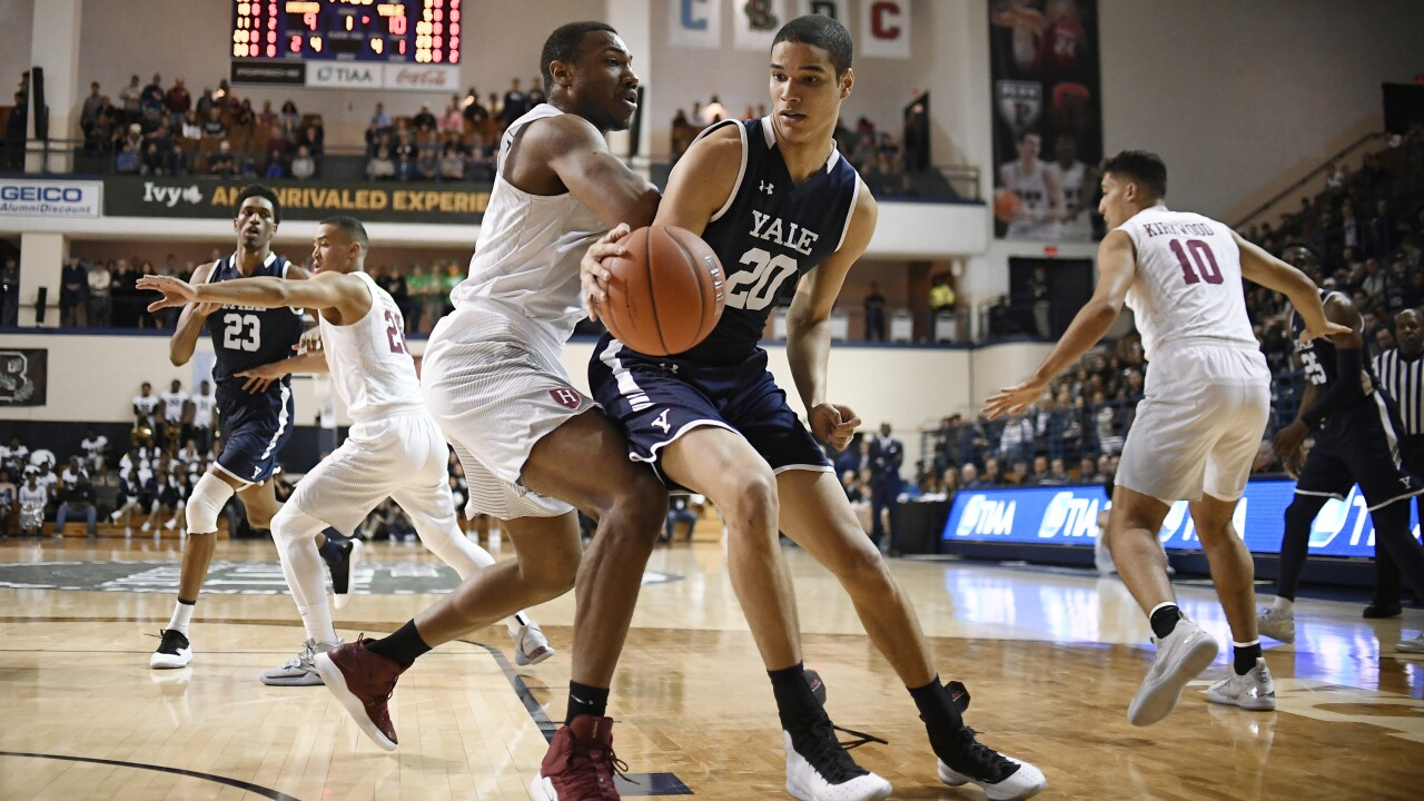 Ivy League cancels basketball tournaments due to coronavirus concerns