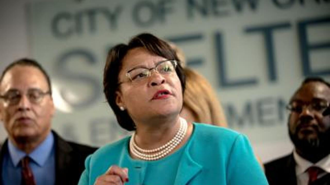 New Orleans Mayor LaToya Cantrell