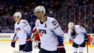 Dylan_Larkin_Denmark v United States: Group A - 2019 IIHF Ice Hockey World Championship Slovakia