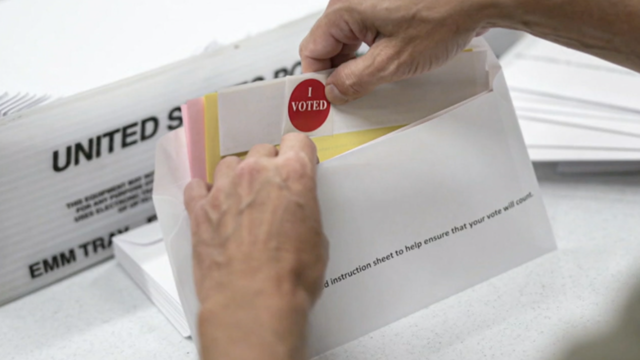 Where's My Ballot? lets voters track mail-in ballots from the post office to the final tally