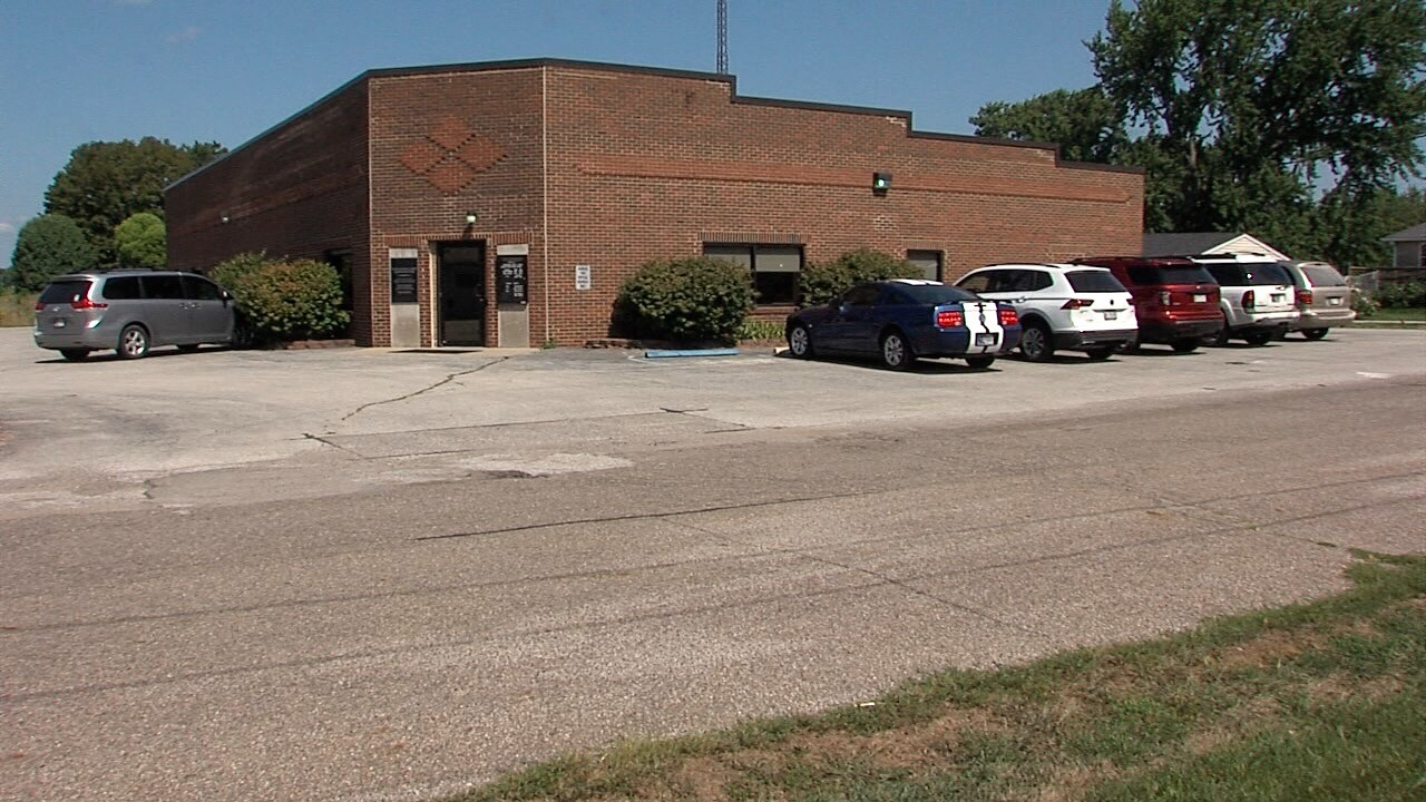 The North West Hendricks School Corporation administration building in Hendricks County