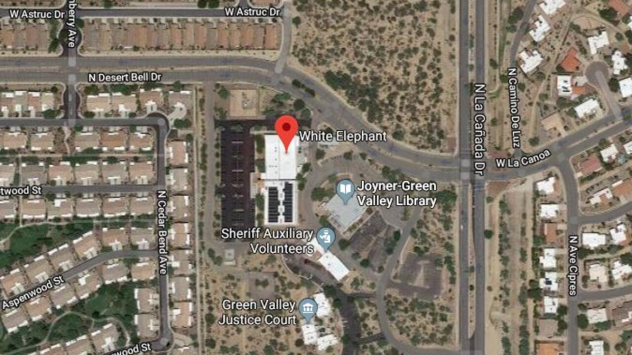 A southern Arizona thrift store near Tuscon seems like an unlikely source of grant money. Image via Google Maps.