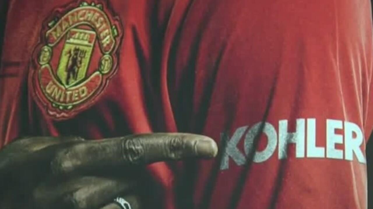 Kohler Co. new sponsor of Manchester United