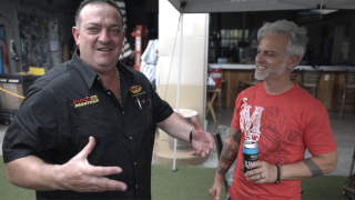 Ramon Hernandez, owner of Pipo's (Left), and Matthew Dahm, owner of Mastry's Brewing Co. (Right)