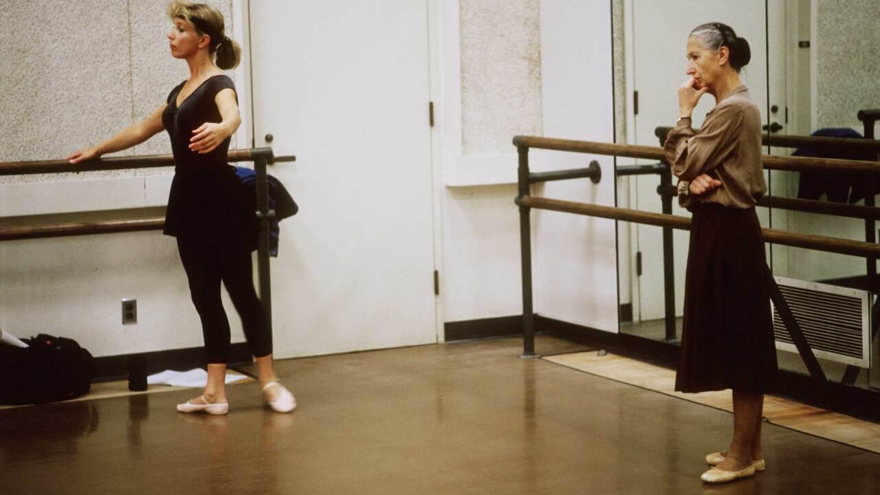 Tatiana Dokoudovska KC Ballet rehearsal