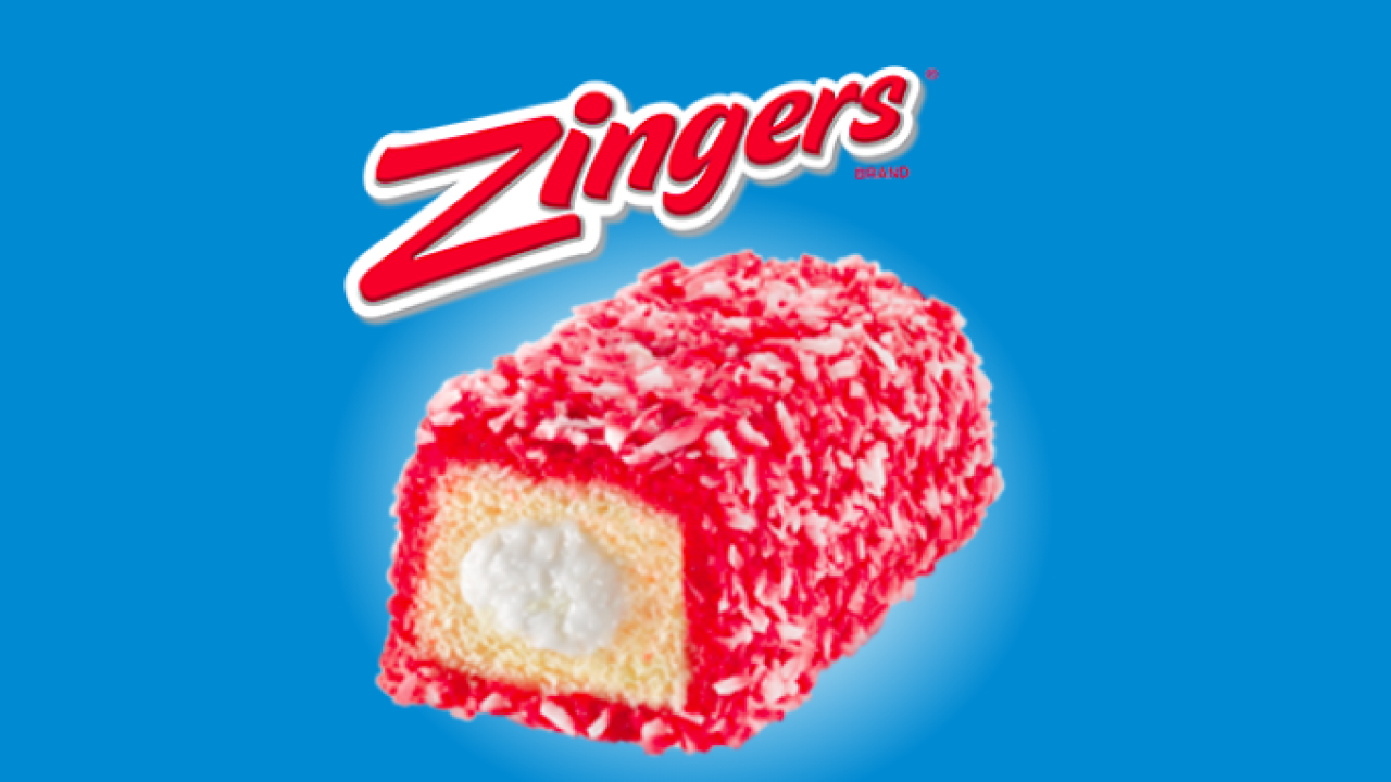 Hostess voluntarily recalling Raspberry Zingers over concern of mold