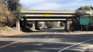 Highway 101 bridge in Los Alamos