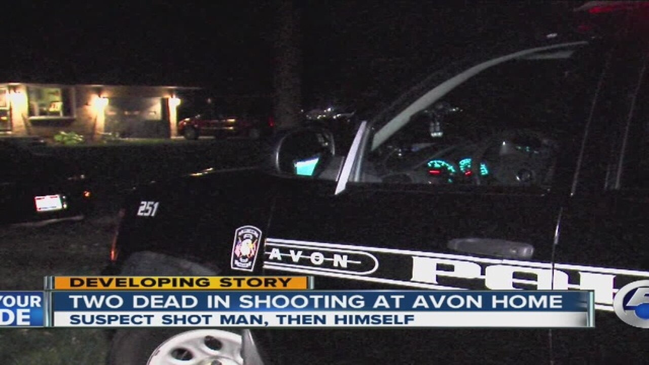 2 men dead in apparent Avon murder-suicide ID'd