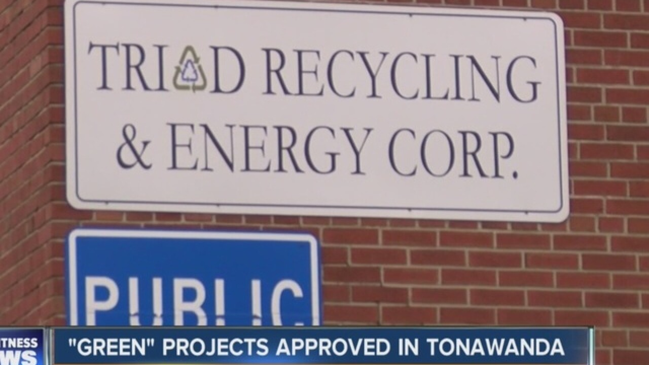 """Triad Recycling and solar panel gets """"ok"""""""