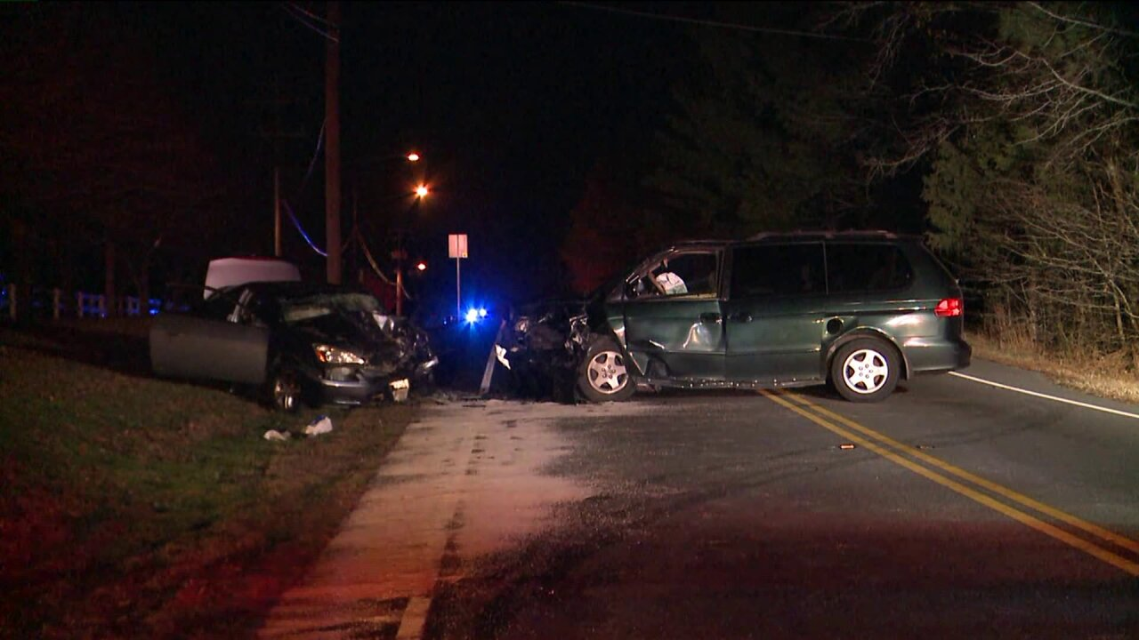 Four injured in head-on vehicle accident in Newport News